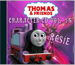 Thomas and Friends Character CD Vol. 15 Rosie by Galaxy-Afro