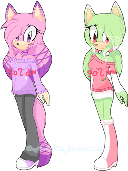 ++|Sweater Adopts Girls Closed !|++ by o0Tecna-Blue0o