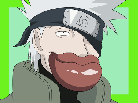 Kakashi's Thick Lips . by DrunkGohan