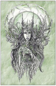 Forest Queen by JankaLateckova
