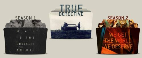 True Detective Folder Icons by Drac-69