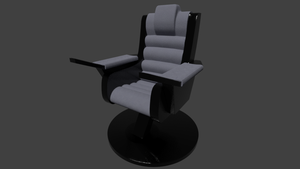 Stargazer Pre-Refit Captain's Chair WIP by SpiderTrekfan616