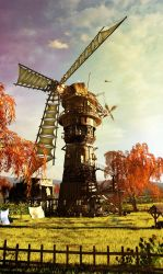 windmill by nbeyond