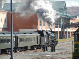 Canadian National 3254 Leaves Scranton for Moscow by rlkitterman