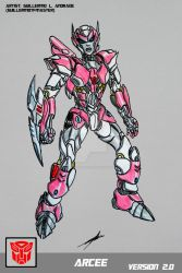 ARCEE V. 2.0 TRANSFORMERS BATTLE MACHINE by GUILLERMOTFMASTER