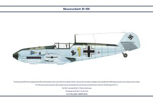 Bf 109 E-1 JG2 1 by WS-Clave