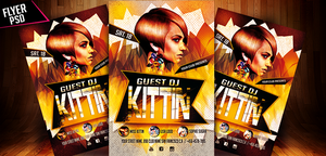 Electro House Flyer Template by ryrdesign
