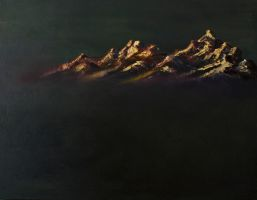 Mountains by FaultyGrapes