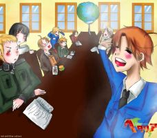Hetalia challange: 001, Introduction by red-and-blue-colours