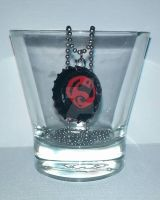 Superboy Necklace by wolf-girl87