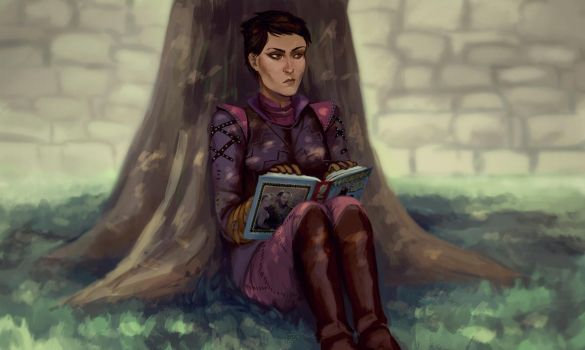 Dragon age request by PandaleonSaa