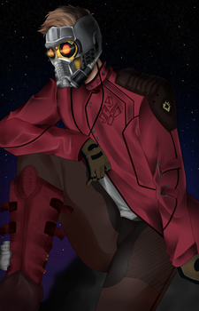 Star-Lord (Guardians of the galaxy) by TakahashiRitsuOnoder