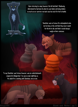 Warriors: Blood and Water - Page 71 by KelpyART
