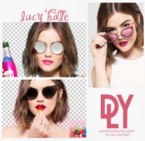 3 |LUCY HALE | PNG PACK by dariayourlocalidiot