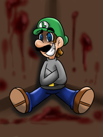 Insanity- colored by MariobrosYaoiFan12