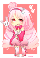 Commission..... Bunnybunhime by RuRu-Rika