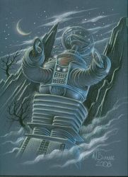 The LOST IN SPACE Robot by MJBivouac