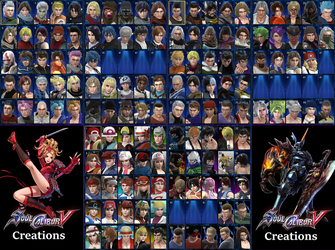 Soulcalibur V: 100+ Character Roster by LeeHatake93