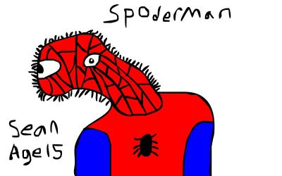 Spoderman by PerfessionalDrawer