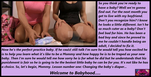 ABDL POV Caption: Practice Makes Perfect by HardcoreCurtsey