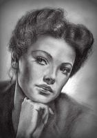 Gene Tierney by Pidimoro
