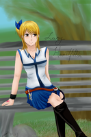 Fairy Tail - Lucy Heartfillia by Mikan-bases