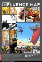 My Influence Map by tedbergeron