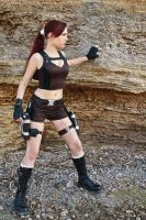 Lara Croft Underworld - on the coast by TanyaCroft