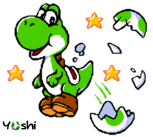 Yoshi :D by colejanes