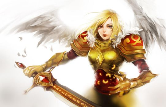 LoL: Kayle the Judicator by ippus