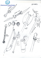 Weapons by TerryRose