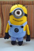 Amigurumi Minion by gengibrecroche