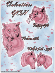 Valentines YCH by ThorinFrostclaw