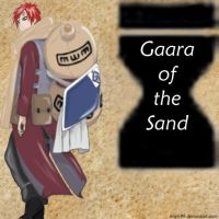 Gaara of the Sand by kayts99