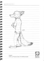 Nick Wilde by CanidWolf