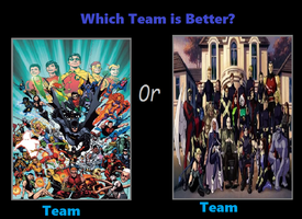 Which Team Is Better Teen Titans Or X Men by coleroboman