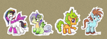 Adoptable Little Ponies by CreatoreMagico