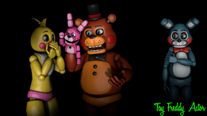 [SFM/FNAF] Toy Chica, Toy Freddy and Toy Bonnie by ToySpringtrap2015