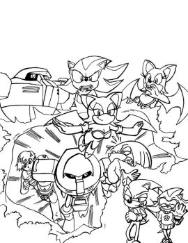 Sonic Eggs 3 Cover Inked Draft by Big-Al-Son86