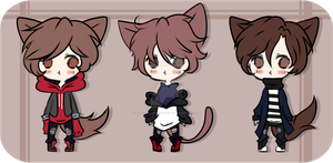 #34 Adoptable Batch |CLOSED by WaterfallDreamAdopts