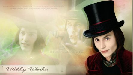 Charlie and the Chocolate Factory   Willy Wonka by Emma2727