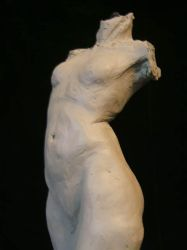 Female Torso Front by Embodytheicarus