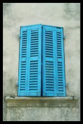 Blue Shutters by catinahat