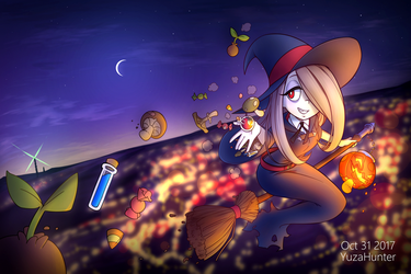 A Halloween Sucy by YuzaHunter