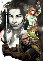 Witcher 2 by EmegE