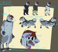Changed Lakota.....again by Howler-Of-Hell