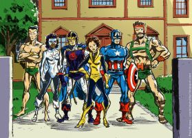 1980s Avengers by TheCosmicBeholder
