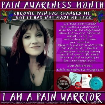 Pain Awareness Month profile pic frame by PandoraPendragon