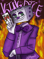 King Dice  by LiLDipArtsy