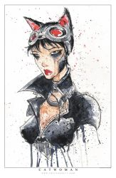 Catwoman Saucy by RobDuenas